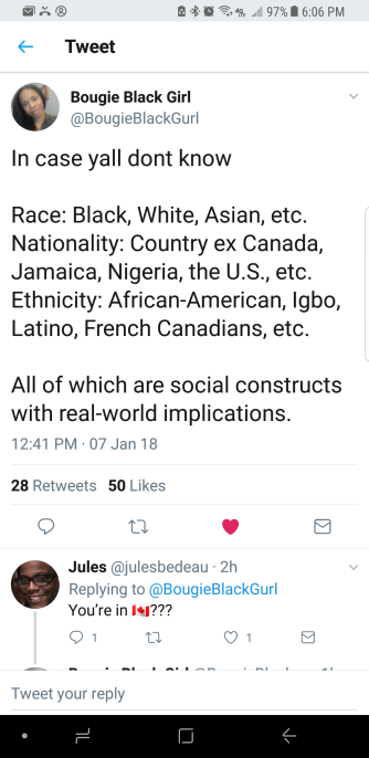 Ethnicity vs. Race